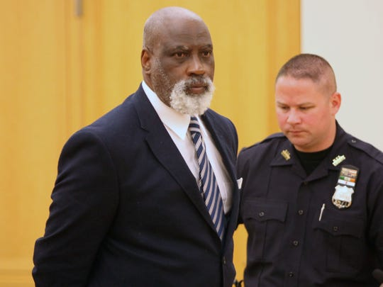 Lucius Crawford, 61, was sentenced Tuesday, Sept. 16, 2014, to the maximum possible Ð 25 years to life Ð for the 2012 slaying of his girlfriend, Tonya Simmons, 41, in his Mount Vernon apartment. He had been convicted in May of second-degree murder in that case.