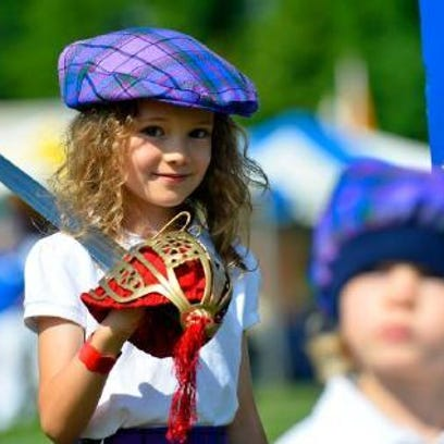 Kids can get in touch with their inner Scot during Gallabrae and its many events this weekend.