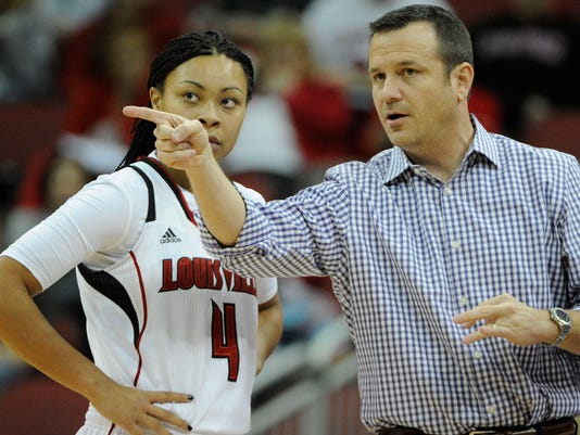 NCAA Womens Basketball: Pittsburgh at Louisville