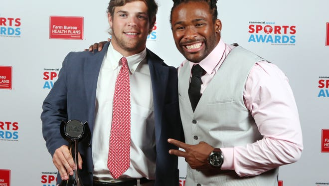Buchanan Dunavant (alongside special guest DeAngelo Williams) is this year's Commercial Appeal Sports Awards lacrosse player of the year.