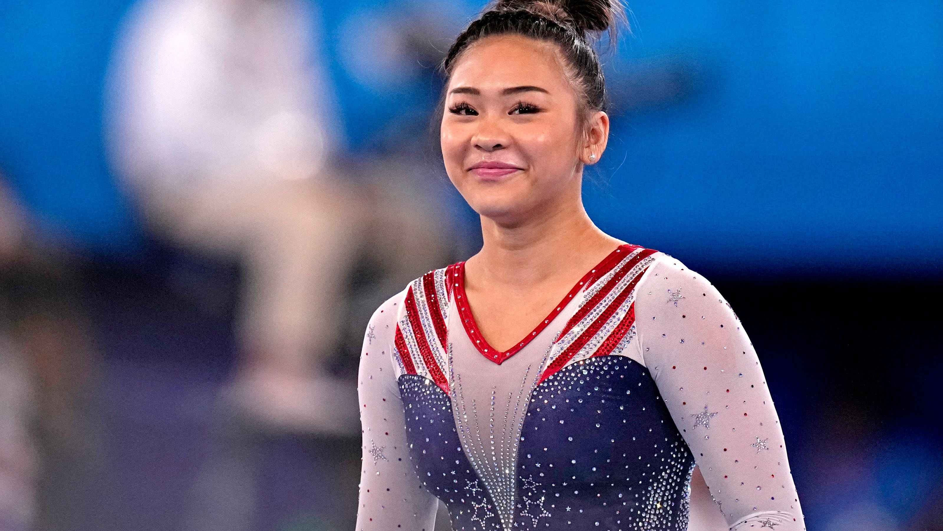 Watch Olympic gymnast Suni Lee's family celebrate her gold medal in heartwarming videos
