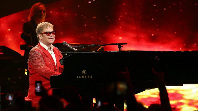 Elton John is among the artists scheduled to perform at the 2015 New Orleans Jazz and Heritage Festival.