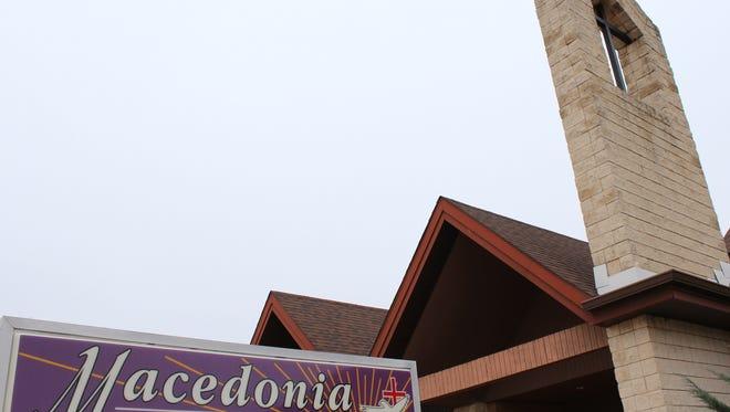 Macedonia Baptist Church in Abilene.
