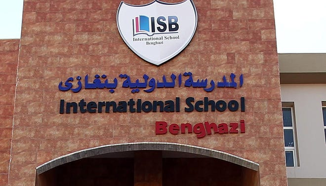 The Benghazi International School in Benghazi, Libya. An American who taught at the school was fatally shot in the city on Dec. 5.