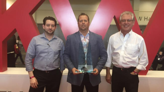 David Ratchford, Patrick Showers and Tony Ratchford of Keller Williams Realty Sioux Falls were part of the office that closed more transactions in its launch phase in 2014 that any other in the Keller Williams organization.