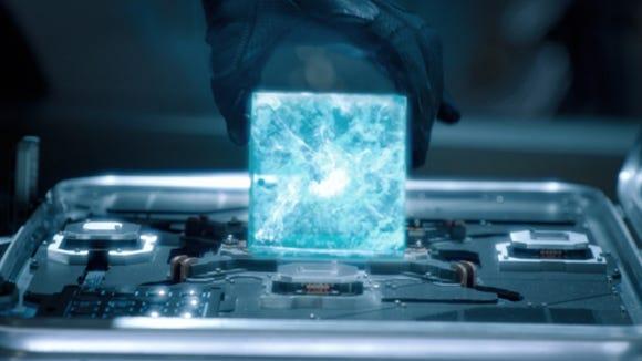 Tesseract-Space gem