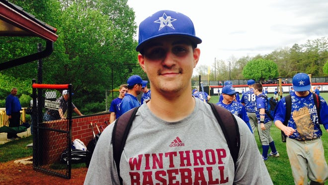 McDowell senior Trevor Newman has committed to play college baseball for Winthrop.