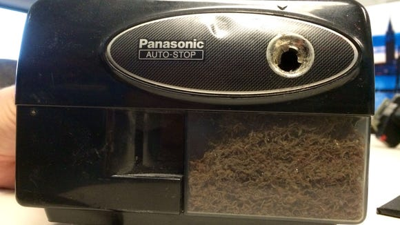 When cubicles drift apart, the ultimate question, who gets the electric pencil sharpener?