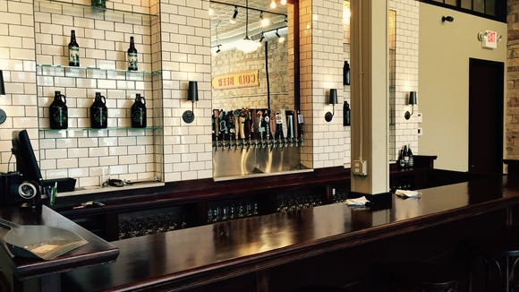 8 Degrees Plato store and tap room opened last week in Midtown Detroit.