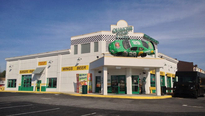 Quaker Steak and Lube on Kenneth Road in West Manchester Township.