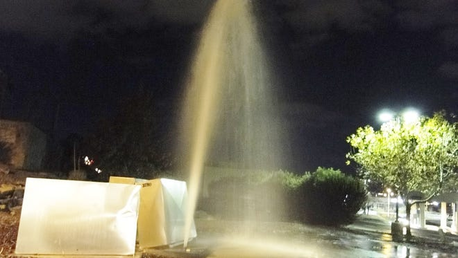 On a cold winter night in early 2015, an on-call Utilities staff member was able to respond within 30 minutes after the report of a water geyser shooting 15 feet into the air. Without a neighbor calling in the geyser to 575-526-0500 and the quick Emergency Dispatch response, that water could have flowed all night long.