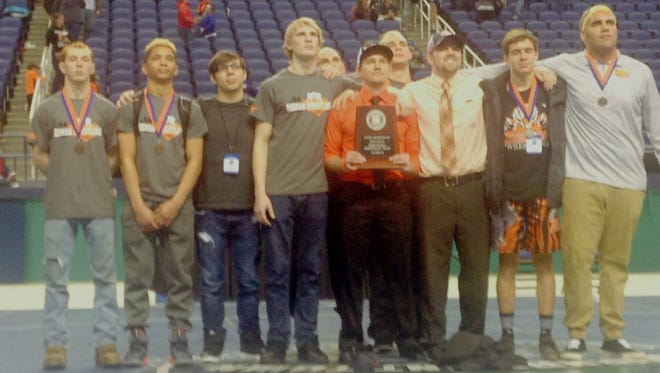 Rosman was the second-place team in the NCHSAA 1-A wrestling tournament which ended Saturday in Greensboro.