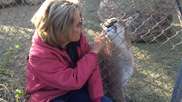 Linda Searles says the future of the wildlife sanctuary could be in jeopardy, given a neighbor's lawsuit.