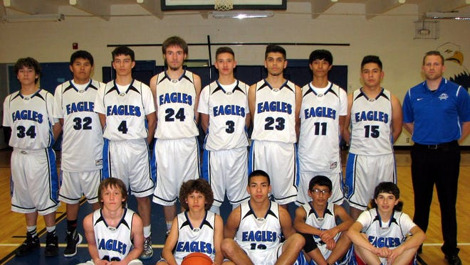 The Hondo Eagles are the class 1A district 3 champions with a 65-35 win over the Vaughn Eagles. The No. 3 Eagles host the first round of the class 1A state tournament against No. 14 Coronado at 5 p.m. Saturday.