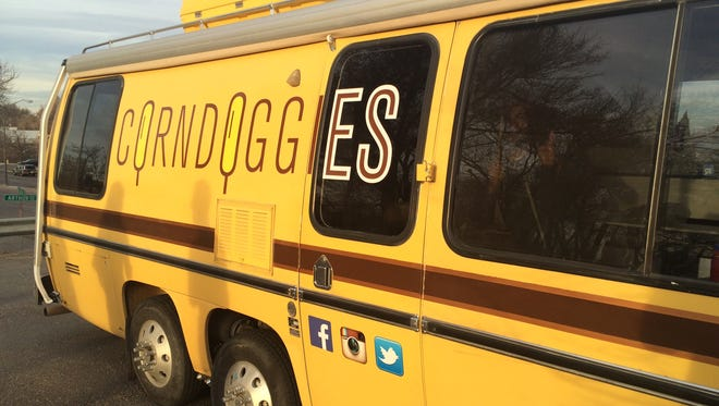 Corndoggies is a local food truck that serves up corn dogs.