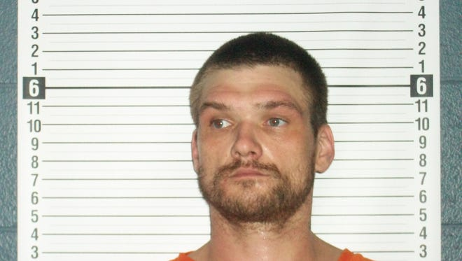 Johnny E. Friley Jr., 36, was arrested by the MARMET Drug Task Force on March 4.