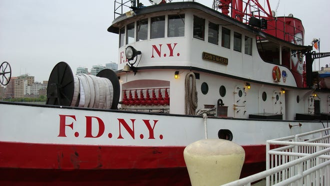 The John D. McKean FDNY boat was purchased at an auction and will be docked in Sleepy Hollow.