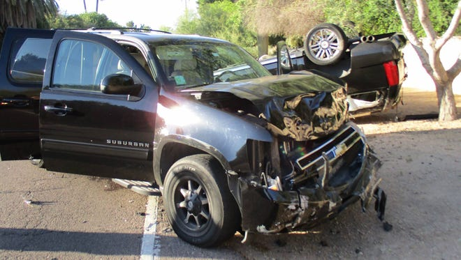 68th Street and Vista Drive collision