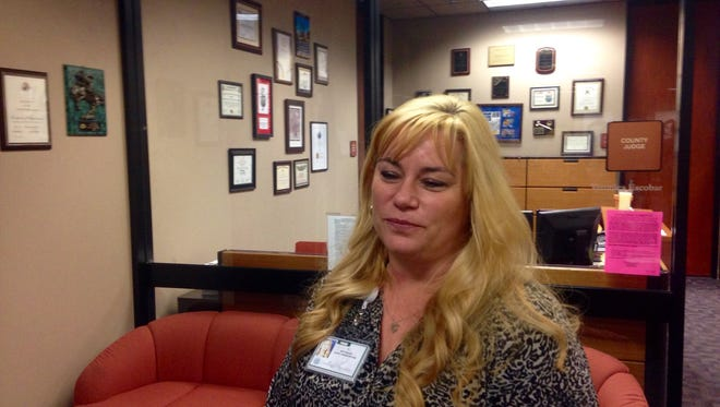 Betsy Keller, 44, on Tuesday was selected by the Commissioners Court as the new county chief administrator. A final agreement still must be negotiated.