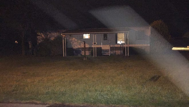 Police said that Jeremy J. Nolin, was stabbed to death at this Pittsville home on Cemetery Road.