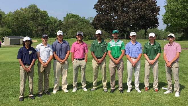Section 9 qualifiers for the state golf tournament, including Roosevelt's Jeff Peters and Spackenkill's Erik Stauderman and Stanley Garrant. May 25, 2016