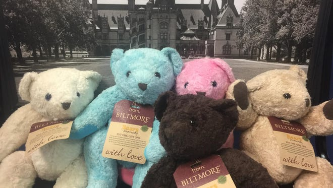 Biltmore Co. sold bears at the holidays and donated some, too.