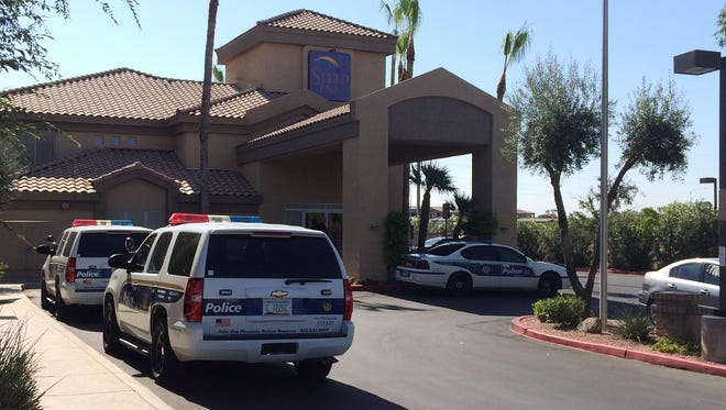 Phoenix police are investigating a shooting