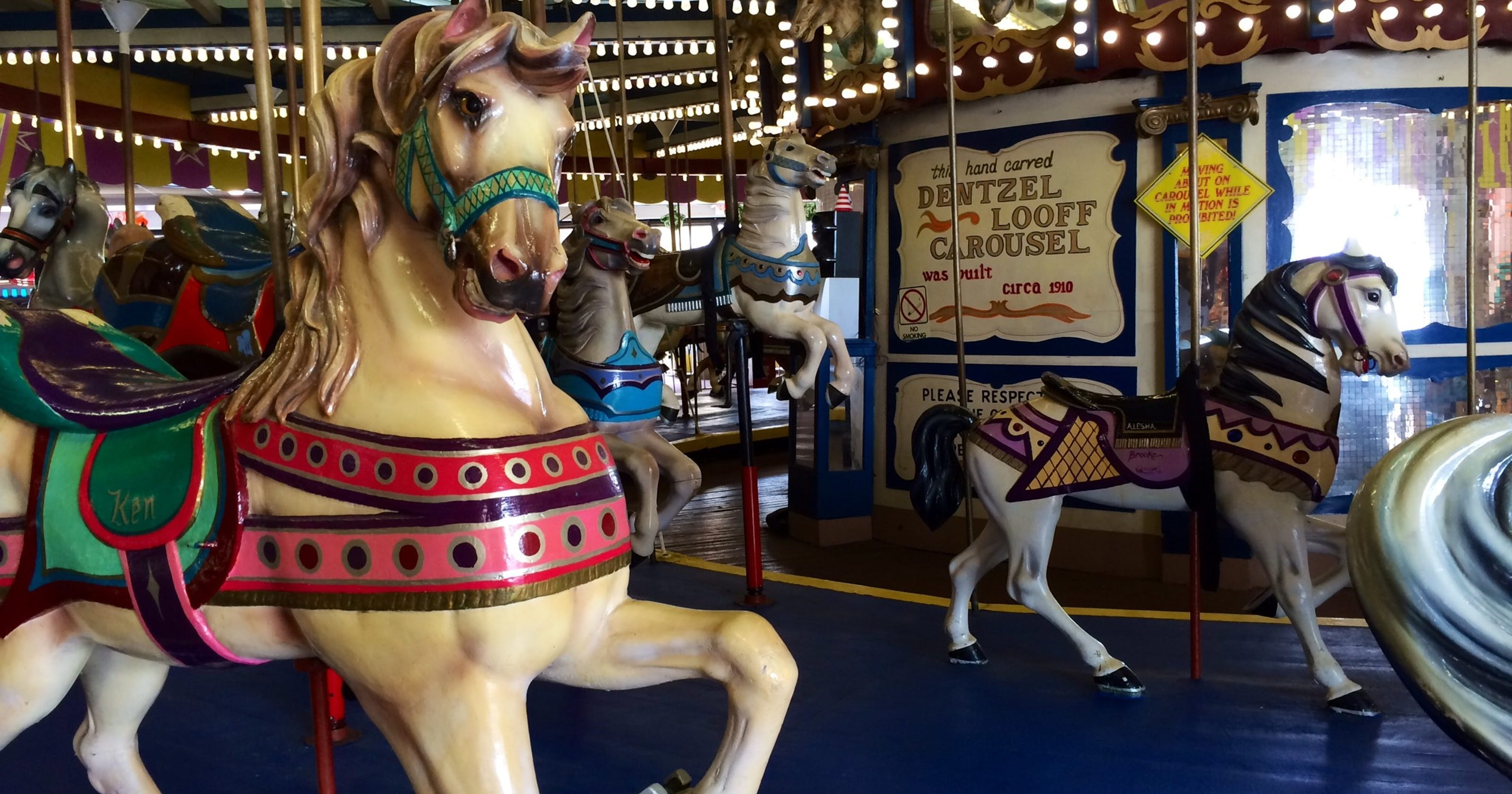 Seaside Heights now owns 1910 carousel at Casino Pier