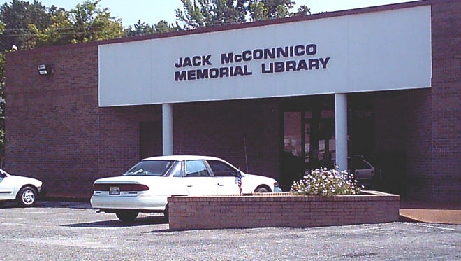 The Jack McConnico Memorial Library will be repaired in the near future.