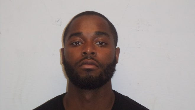 Ross Morris of Camden was arrested on Thursday night in Oaklyn. Police say he was in possession of 120 bags of suspected crack cocaine.