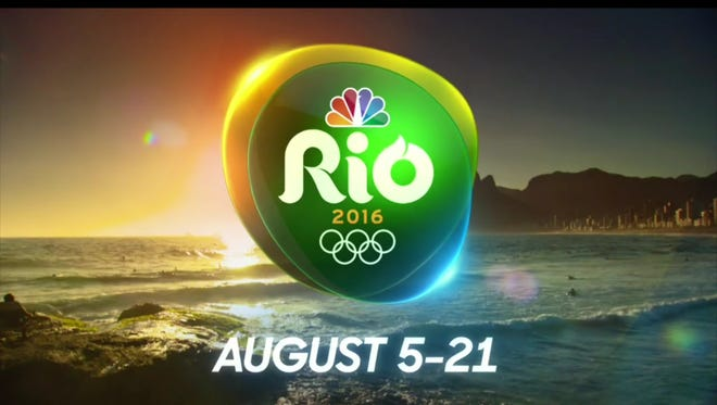 NBC is broadcasting more than 6,000 hours of coverage from the Rio Olympics.
