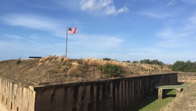 Fort Barrancas.