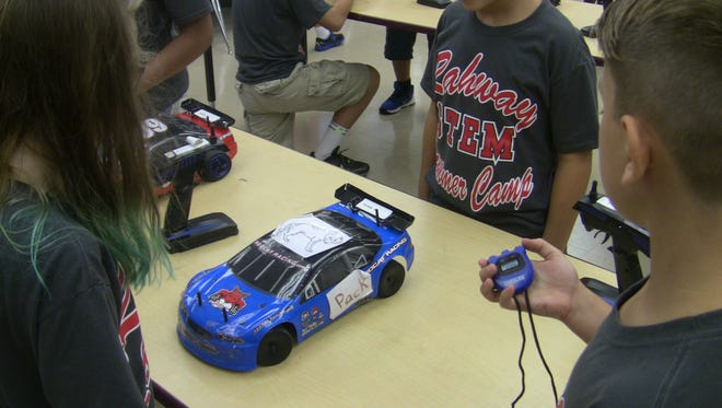 The Rahway STEM Summer Camp was held for three weeks this summer and designed for students entering grades 5 through 8 with a passion for Science, Technology, Engineering, and Mathematics (STEM).
