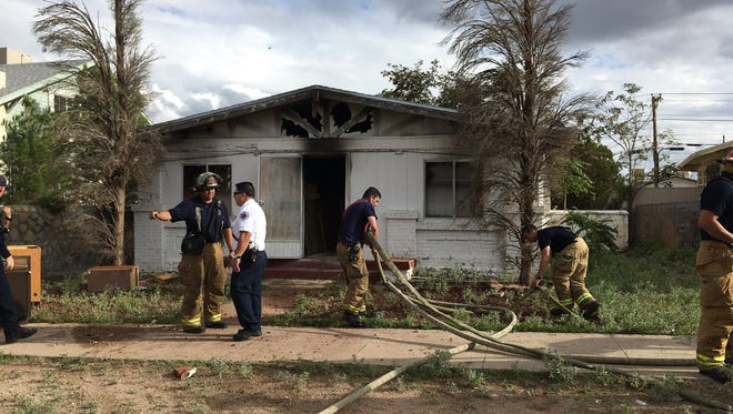 Eight units and 24 firefighters responded to a Condition 1 fire in the 400 block of Mountain Avenue.
