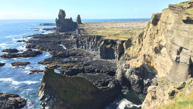 Cliffs in North Iceland