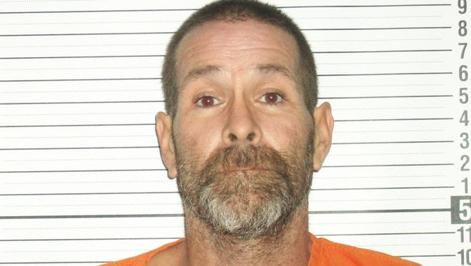 Tim Weiser, 44, was sentenced to seven years in prison Thursday after a January standoff.