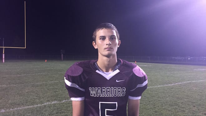 Wes-Del's Connor Townsend.