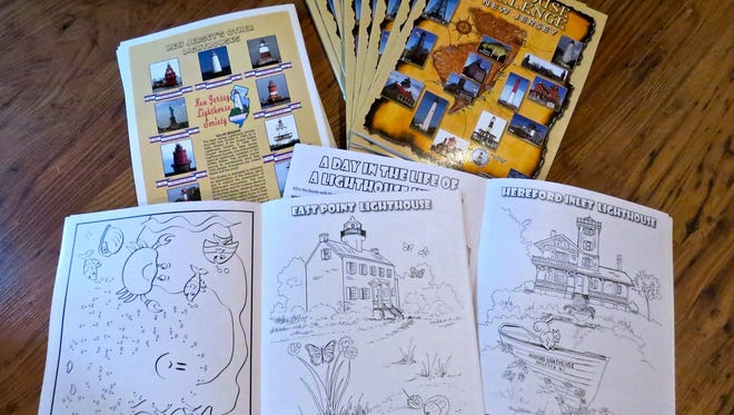 The Lighthouse Challenge of NJ will be held on Oct. 15 and 16. New for this year's event is a Lighthouse Challenge Coloring Book, which contains 15 line drawings, one for each site on the challenge, along with a variety of activity and educational pages. The books cost $2 and are intended to encourage children's interest in maritime history.