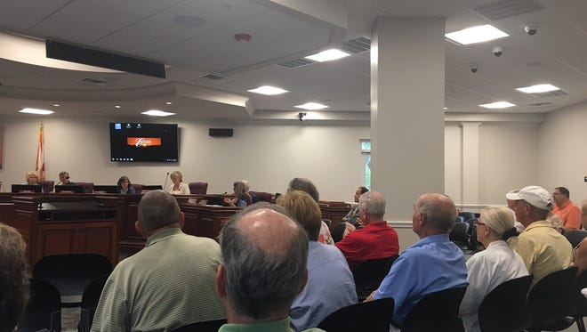 Estero Design Review Board on Wednesday, Oct. 27, 2016.