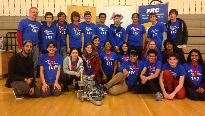 """Montclair High School FTC Robotics Team 147, """"Montclair Momentum,""""  will be going to the New Jersey Garden State Rumble Championship on Feb. 26."""