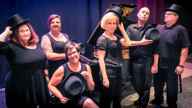 This witty musical comedy is going on at the Asheville Community Theatre's 35Below.