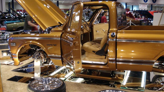 The Shreveport World of Wheels car show will take place Jan. 27-29.