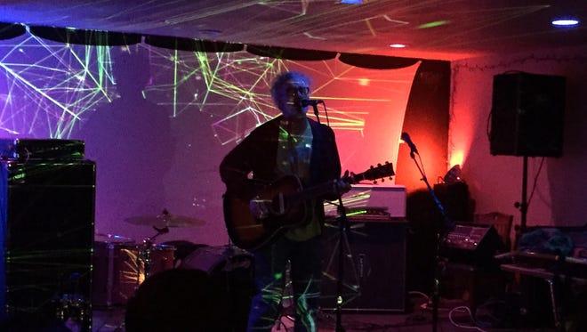 Kent Stanton performs at Chizuko in the Belmont Devilliers neighborhood.