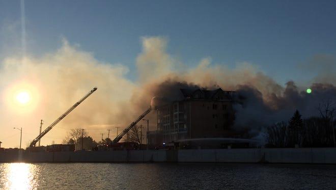 Fire in Ocean Grove