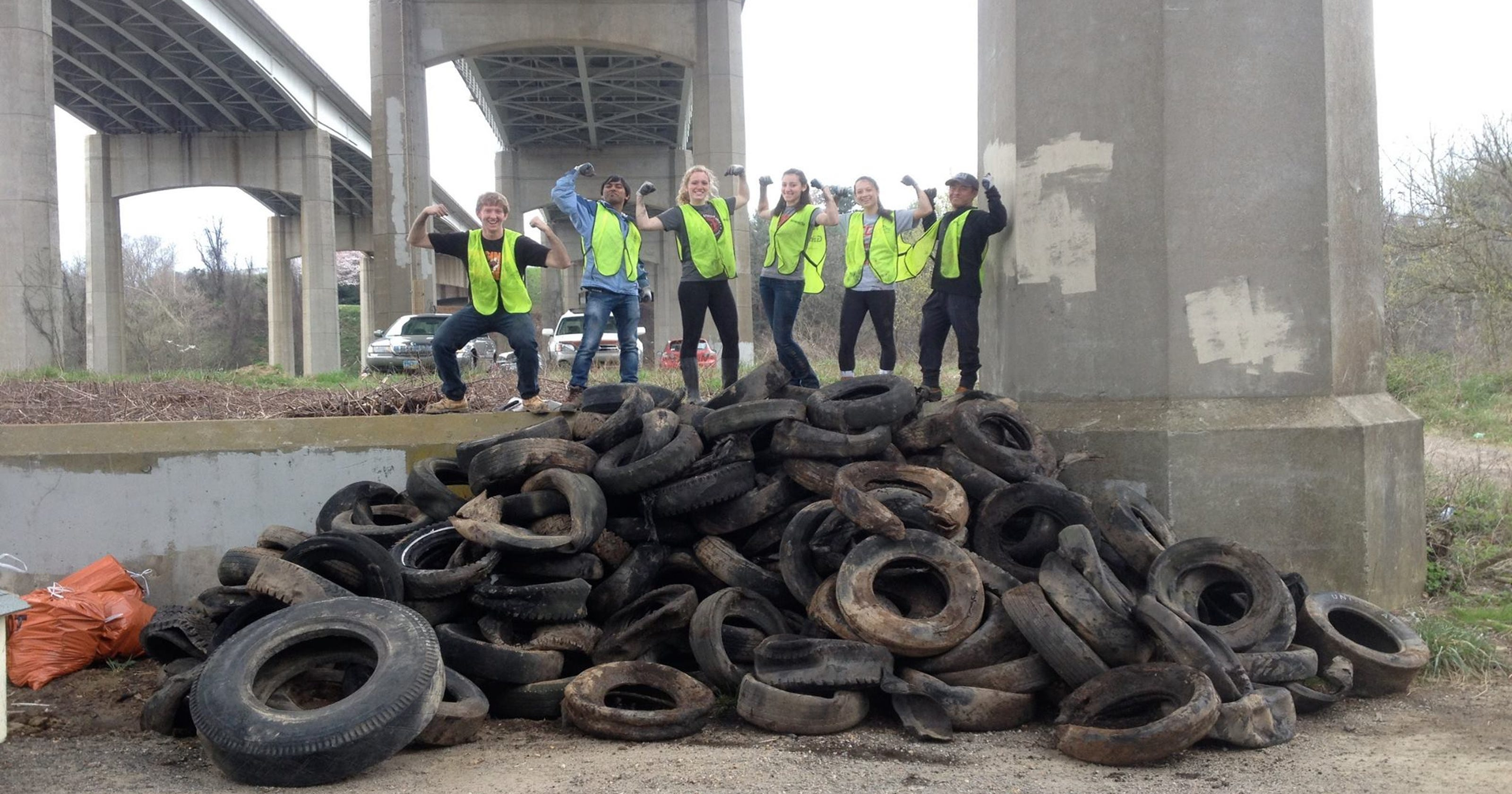 Got tires? Free tire disposal this weekend in Asheville