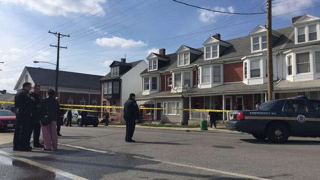 York City Police are investigating a Tuesday afternoon shooting in the 900 block of East Princess Street.