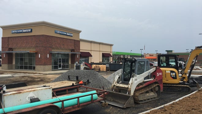 Retail construction continues along the Madison Street corridor.