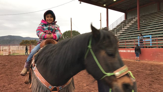 Mescalero youth have the chance to learn about rodeo at a youth rodeo school and rodeo at Sampson Miller Arena in Mescalero.