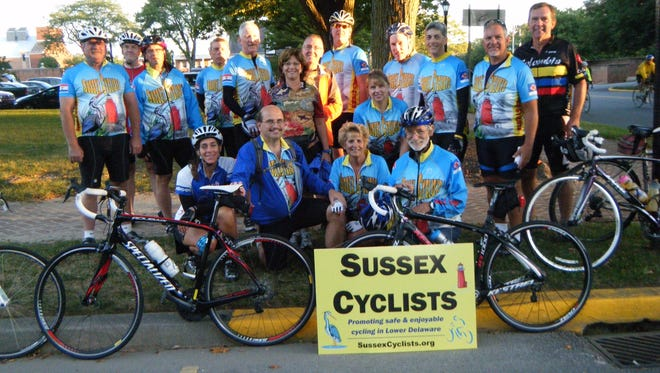 The Sussex Cyclists took part in an Amish Country event in Dover.