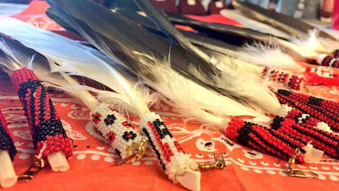 Some Natives never receive an eagle feather, while others receive many in their lives.